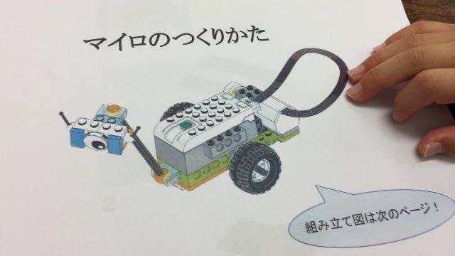 レゴロボットマイロの作り方