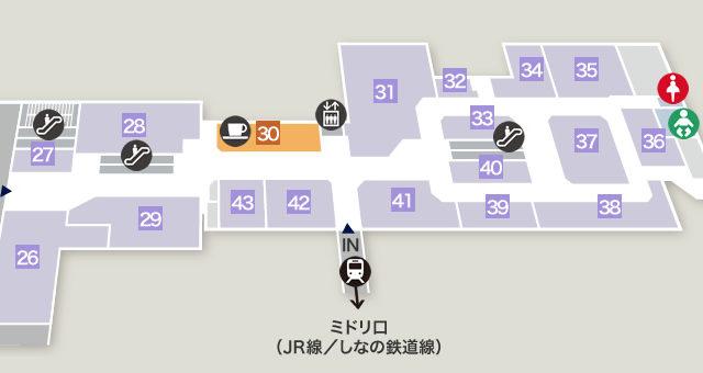 ミドリ1階フロア図