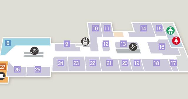 ミドリ3階フロア図