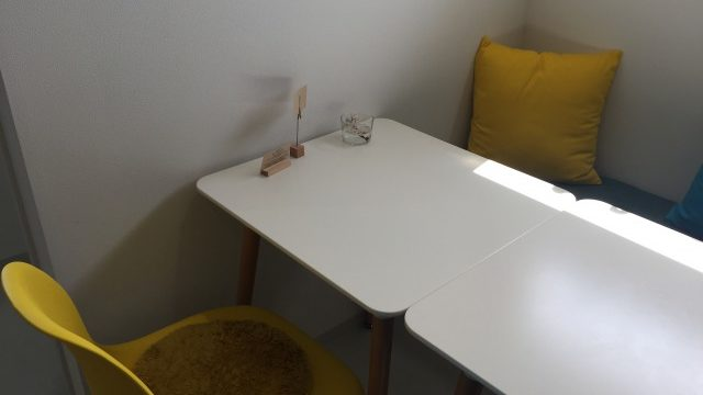 87cafe飲食スペース