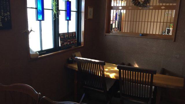 おやきのほり川カフェスペース