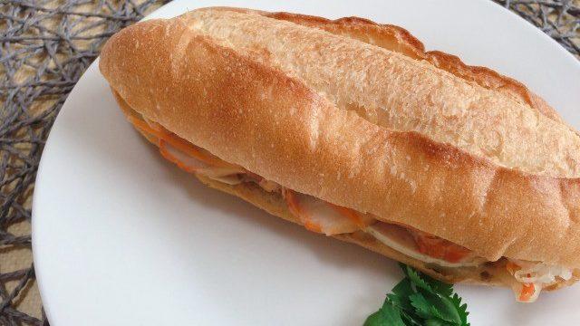 チャオゴンバインミー豚肉とベトナムハム